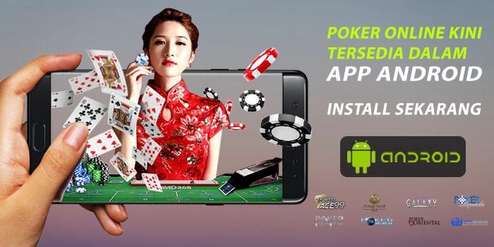 apps android tersedia di poker online